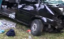 Poważnie wyglądający wypadek na Grunwaldzkiej