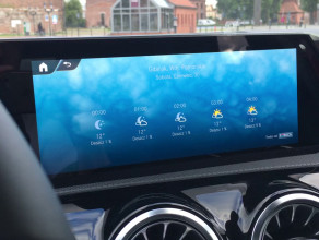 Sztuczna inteligencja w Mercedesie Klasy A