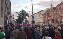 Protest pod sądem na Nowych Ogrodach