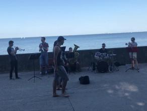 Happy na bulwarze w Gdyni