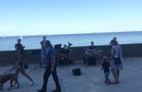 Muzycy na bulwarze w Gdyni