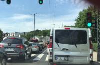 Sopot sparaliżowany w stronę Gdyni