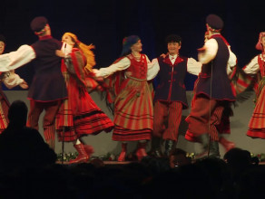Zespół Mazowsze obchodził 70-lecie w Ergo Arenie