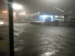 Dramatycznie wysokie opady deszczu