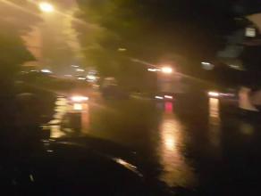 Początek FETY w ulewnym deszczu