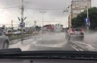 Morska w Gdyni po opadach deszczu