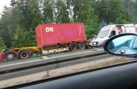 Obwodowa zamknięta po wypadku
