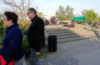 Donald Trump gra na perkusji w Sopocie