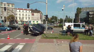 Wypadek na Hucisku w Gdańsku