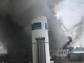Pożar w Naucie