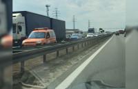 Kolizja 4 samochodów przy Szadółkach