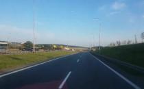 Korek przed wjazdem na autostradę