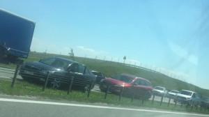 Wypadek na A1 w stronę Gdańska