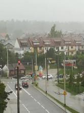 Ulewa - Gdynia Dąbrowa, ul. Rdestowa