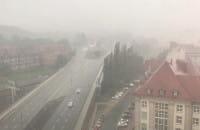 Ulewa w Gdańsku