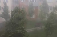 Wichura w Gdyni