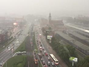 Ulewa nad Gdańskiem