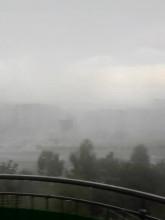 Oberwanie chmury na Chełmie