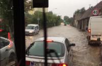 Rzeka na Małomiejskiej na Oruni