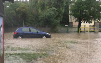 Małomiejska na Oruni zamieniła się w rzekę.