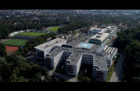 Uniwersyteckie Centrum Kliniczne z lotu ptaka