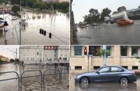 Ulewa w Gdańsku. Filmy czytelników w jednym klipie