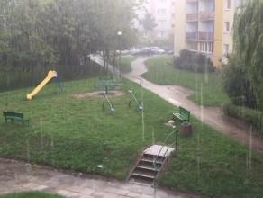 Na Chełmie już pada, a u was?