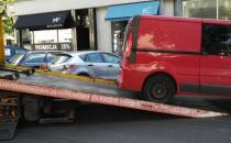 Gdynia: Straż Miejska odholowuje auto z...