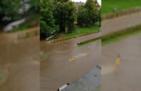 Zatopiona Kartuska w Gdańsku