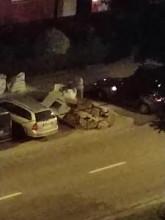 Przyjechał autem podrzucić śmieci na Chyloni