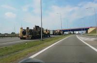 Wojsko na obwodnicy od Karczemek do Gdyni