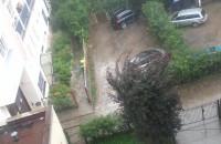 Ulewa w Gdyni