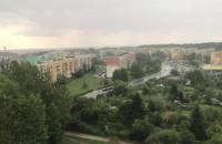 Sporo deszczu na Witominie