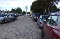 Zastawiona samochodami Ołowianka