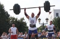 Strongmani rywalizowali na Targu Węglowym