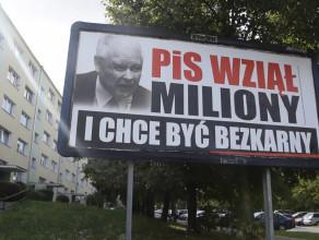 Billboardy z Kaczyńskim w Gdańsku