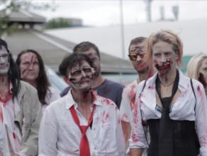 Zombie atakowały ludzi w gdańskim parku