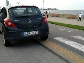 Parkowanie na zakazie