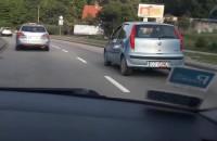 Rowerzysta na Słowackiego