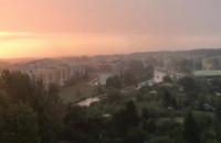 Poranne oberwanie chmury nad Witominem