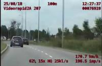 Z zakazem sądowym jechał 170 km/h