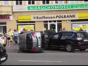 Skutki wypadku na Hucisku
