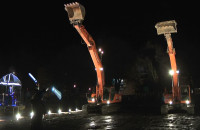 Uroczyste rozpoczęcie budowy Gdańskiego Teatru Szekspirowksiego