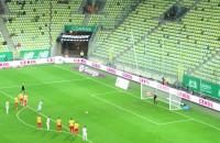 Flavio Paixao na 1:0 w meczu Lechia - Korona