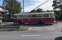 Zabytkowy trolejbus w Gdyni