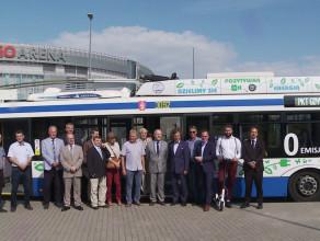 Trolejbusem do Ergo Areny