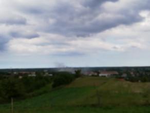 Pożar pustego domu na Oruni