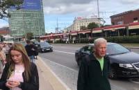 Unieruchomione tramwaje w centrum Gdańska
