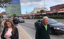Unieruchomione tramwaje w centrum miasta