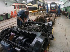 Przebudowa tramwajów z Niemiec